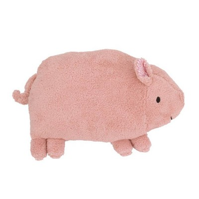 Little Love by NoJo Piggy Throw Pillow