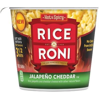 Rice O Roni Jalapeno Cheddar Rice Mix Microwavable Cup - 2.1oz
