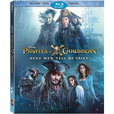 Pirates Of The Caribbean: Dead Men Tell No Tales (Blu-ray + DVD + Digital)