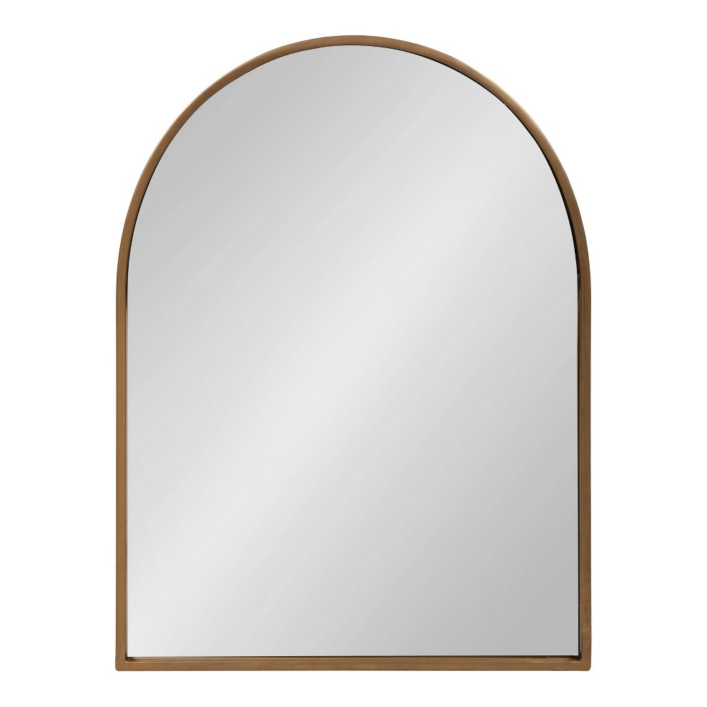 24 34 X 32 34 Valenti Framed Arch Mirror Gold Kate And Laurel
