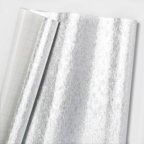 Textured Gift Wrap Silver - Wondershop™ - image 1 of 1