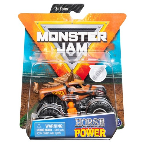 Monster Jam 1:64 Single Pack Assorted - Horse Power - image 1 of 4