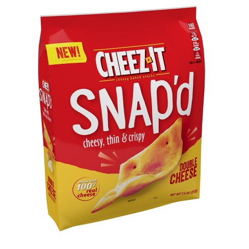 Cheez-It Snap'd Double Cheese Crackers - 7.5oz - image 1 of 4