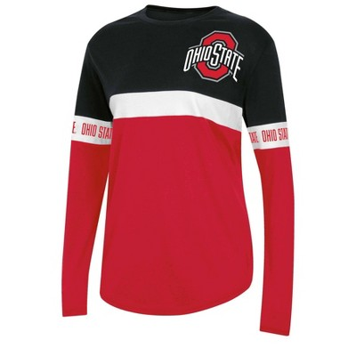 NCAA Ohio State Buckeyes Women's Long Sleeve T-Shirt