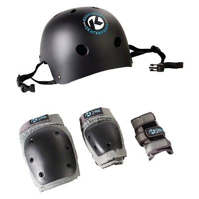 Kryptonics Skateboards 4 in 1 Bike Pad and Helmet Combo - S