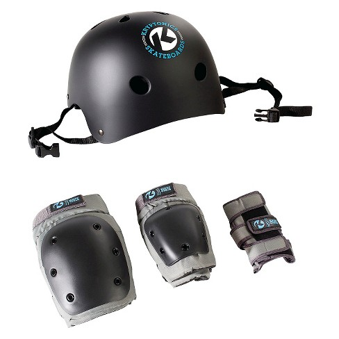 Kryptonics Skateboard 4-in-1 Skateboard Helmet and Pads Combo - image 1 of 4