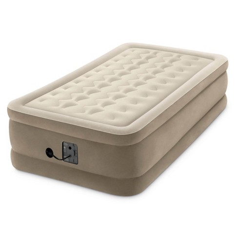 Intex Dura Beam 18 Inch Inflatable Airbed Mattress with Internal Pump, Twin - image 1 of 4