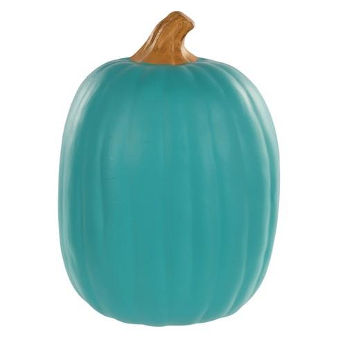 Large Halloween Pumpkin Teal - Hyde & EEK! Boutique™ - image 1 of 1