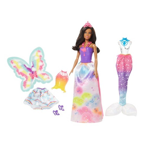 Barbie Dreamtopia Nikki Doll and Fashions - image 1 of 13