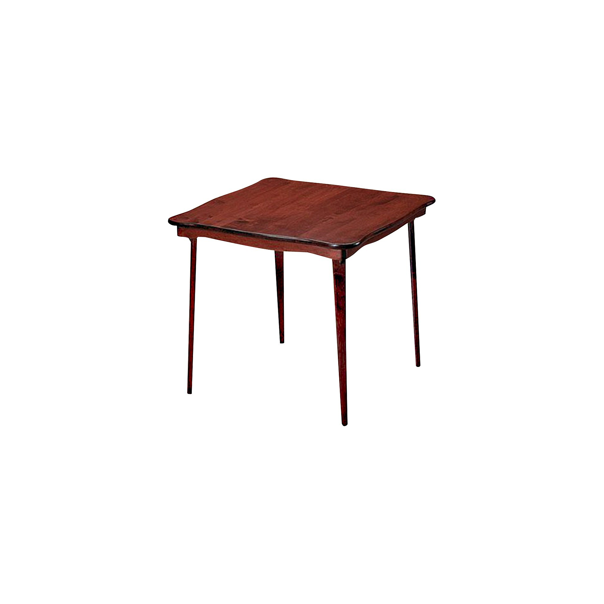 Solid Wood Folding Table Cherry - Statmore , Brown