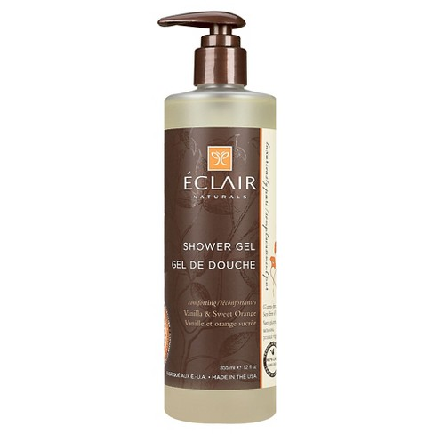 Eclair Naturals Vanilla & Sweet Orange Shower Gel - 12oz - image 1 of 1