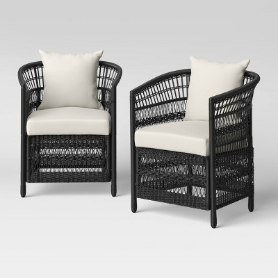 Mulberry 2pk Patio Club Chair - Threshold™