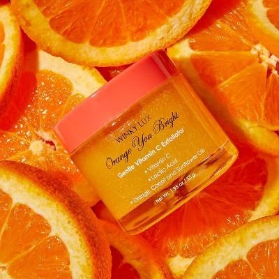 Winky Lux Orange You Bright Exfoliator - 1.95oz