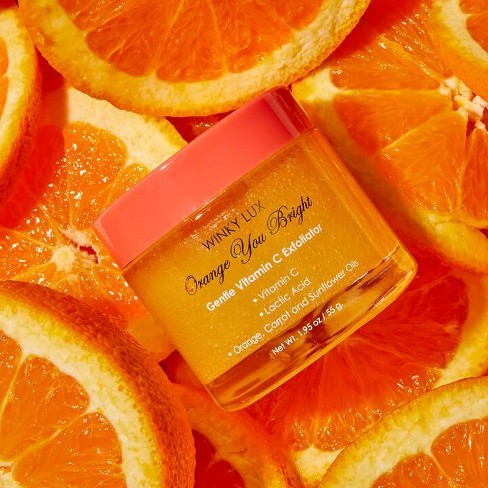 Winky Lux Orange You Bright Exfoliator - 1.95oz - image 1 of 4