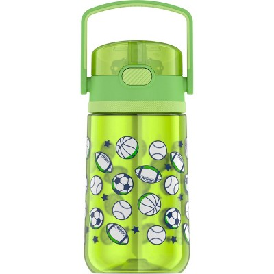 Thermos 14oz Plastic Kids Water Bottle with Flip Straw