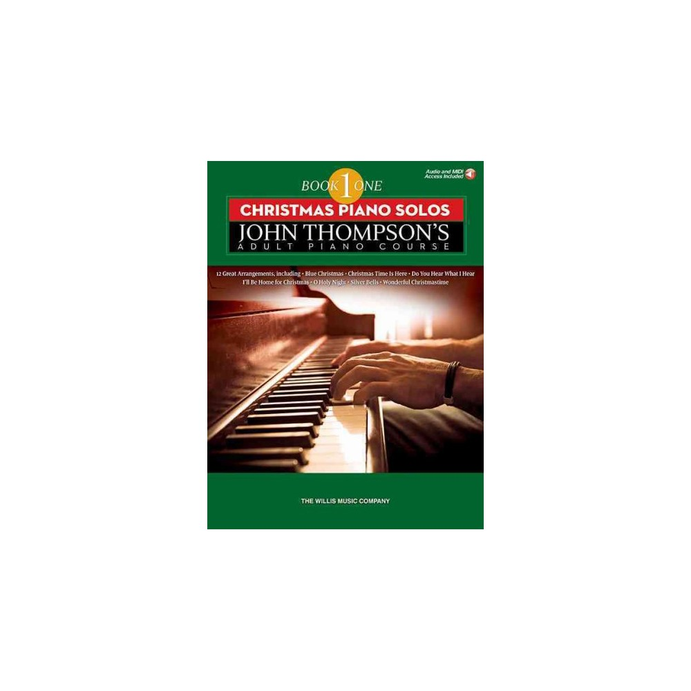 Christmas Piano Solos : Elementary Level - Includes Downloadable Audio (Paperback)