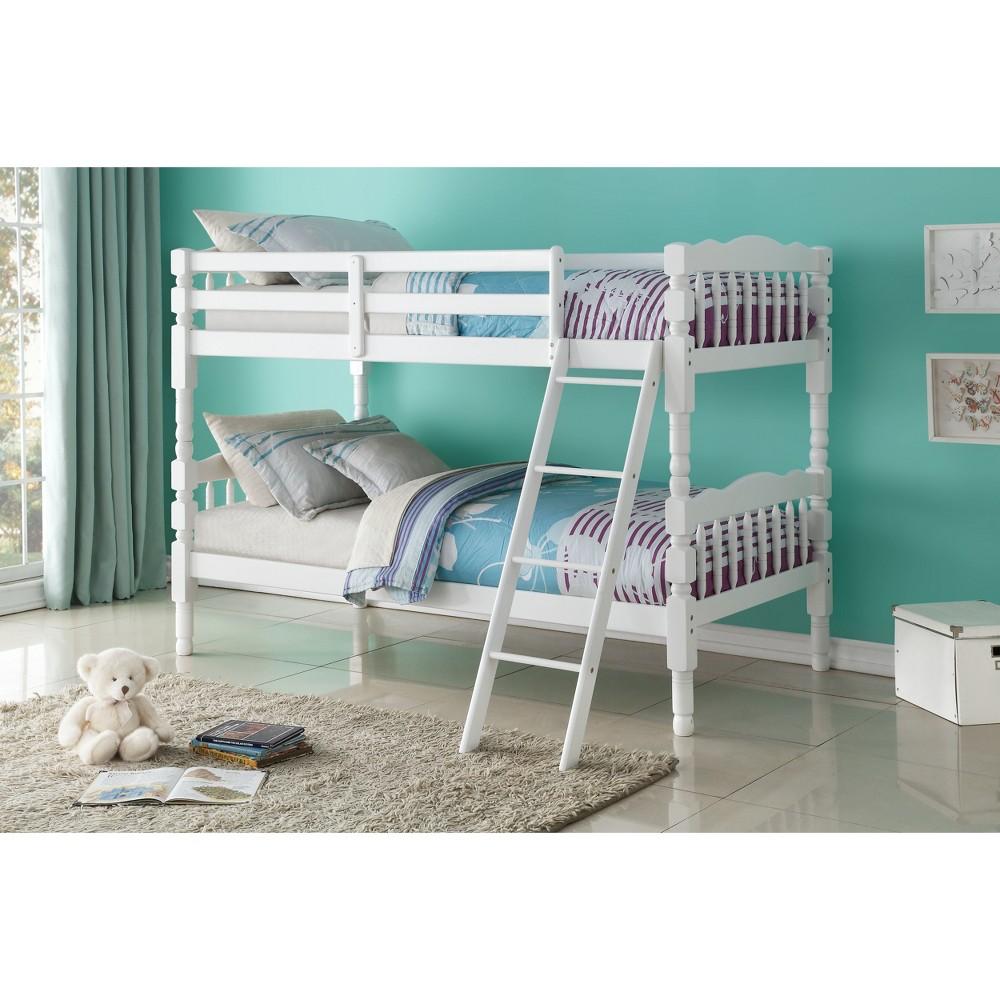 Homestead Kids Bunk Bed - White(Twin/Twin) - Acme