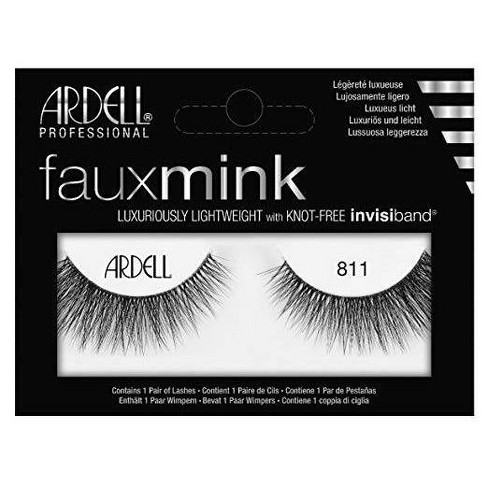 Ardell Eyelash 811 Faux Mink Black - 1ct - image 1 of 3
