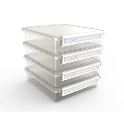 "Plano 12""X13"" Cubby Cube 4 Stackable Fits White Handle"