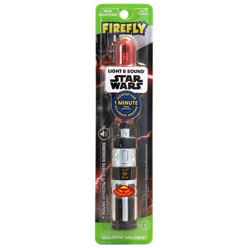 Firefly Star Wars Light Saber Soft Toothbrush for Kids - image 1 of 3