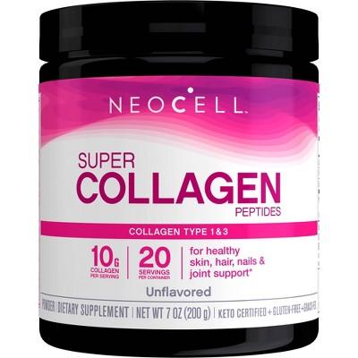 NeoCell Super Collagen Dietary Supplement Powder - 7oz