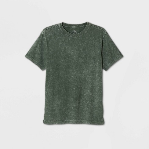 Men's Loose Fit Short Sleeve Crew Neck T-Shirt - Original Use™ Green - image 1 of 1