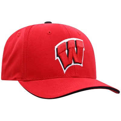 NCAA Wisconsin Badgers Men's Reality Structured Brushed Cotton Hat