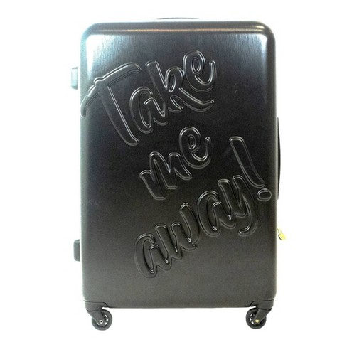 "The Macbeth Collection 29"" Take me Away Hardside Spinner Suitcase - Black - image 1 of 4"
