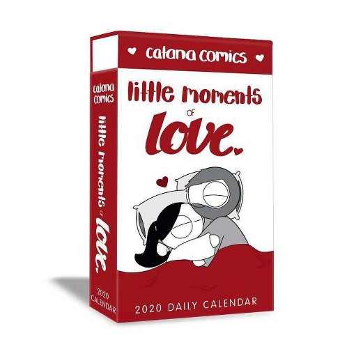Catana Comics Little Moments of Love 2020 Deluxe Day-To-Day Calendar - by  Catana Chetwynd - image 1 of 1