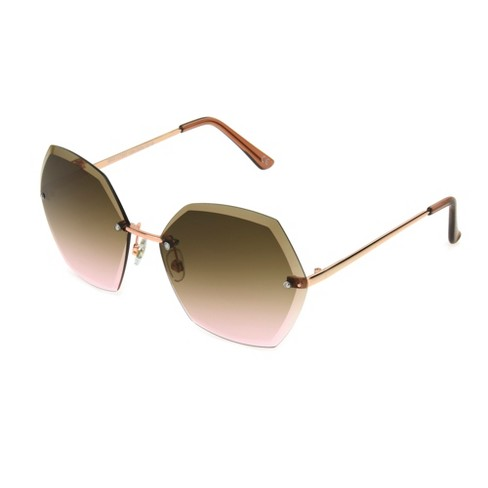 7d0318fc5ea Women s Circle Sunglasses - A New Day™ Bright Gold   Target