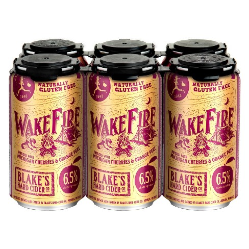 Blake's® Wake Fire Hard Cider - 6pk / 12oz Cans - image 1 of 1