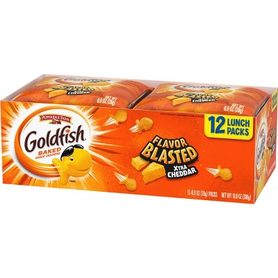 Pepperidge Farm Goldfish Flavor Blasted Extra Cheddar - 12ct