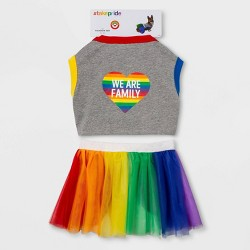 Pride We Are Family Pet Apparel
