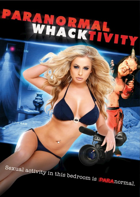 Paranormal whacktivity (DVD) - image 1 of 1
