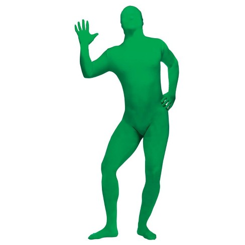 Men's Skin Suit Costume Green One Size - image 1 of 3