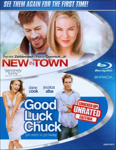 New in town/Good luck chuck (Blu-ray) - image 1 of 1