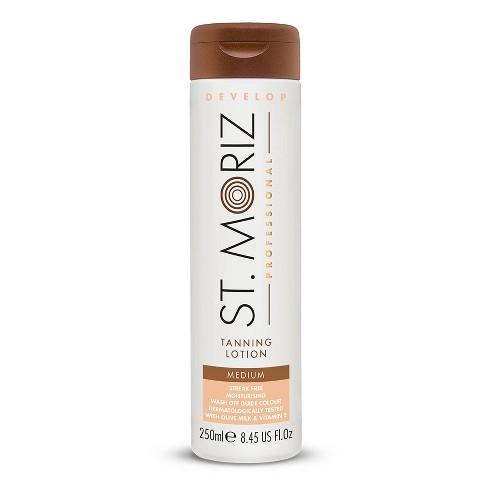 St. Moriz Professional  Instant Medium Self Tanning Lotion - 8.45oz - image 1 of 4