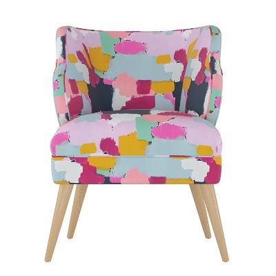 Logan Chair Gray - Skyline Furniture