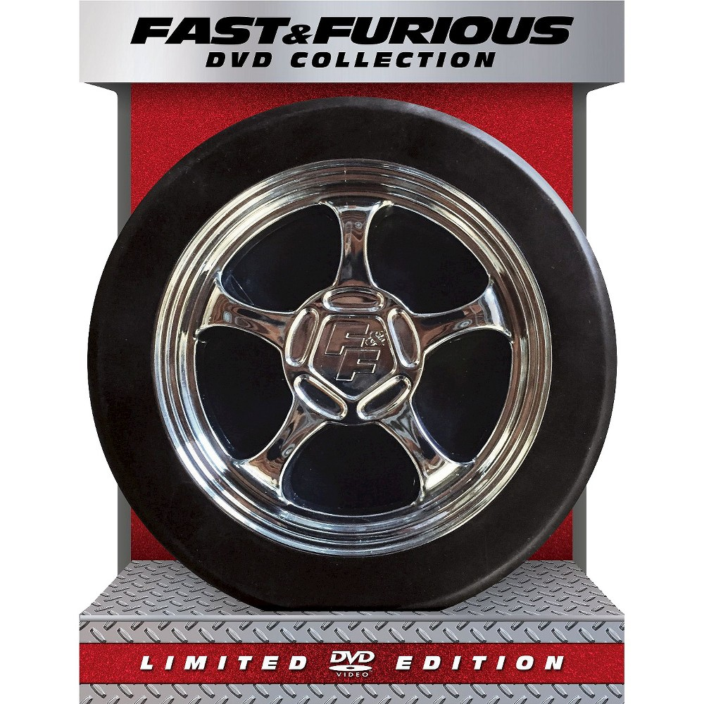 Fast & Furious Dvd Collection [Limited Edition] [7 Discs]
