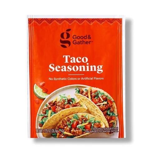 Taco Seasoning - 1.25oz - Good & Gather™ - image 1 of 2