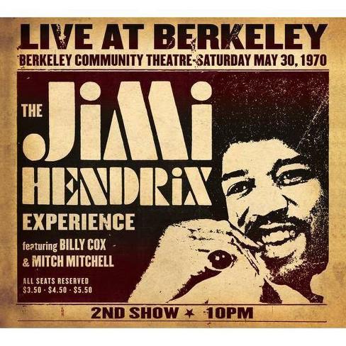 Jimi Hendrix - Jimi Hendrix Experience Live At Berkeley (CD) - image 1 of 2