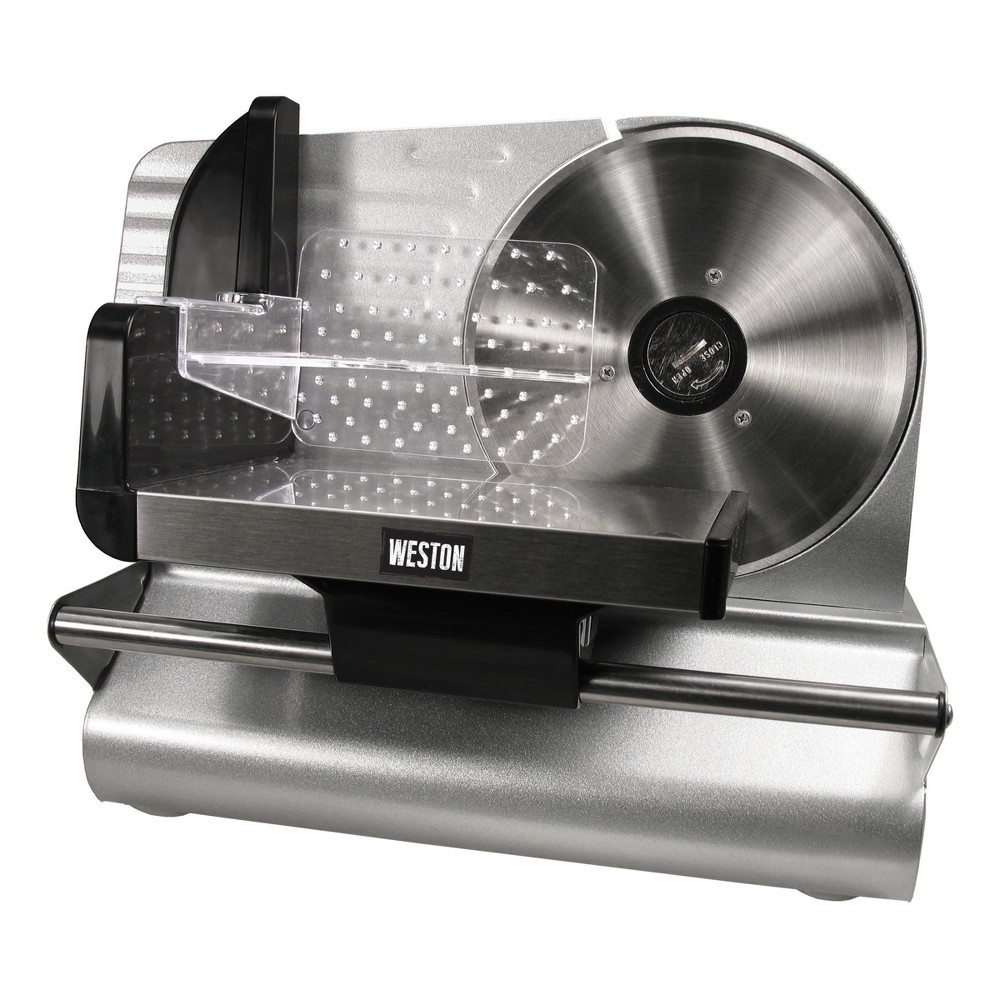 Weston 7.5 Meat Slicer 83-0750-W, Silver 51077465