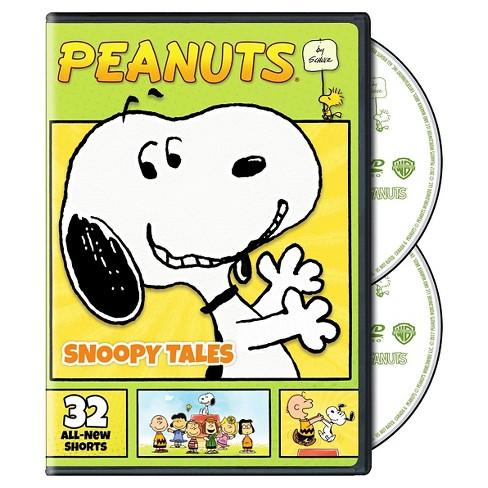 30b00a2258 Peanuts By Schulz  Snoopy Tales (DVD)   Target