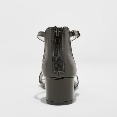 a048ef02da2 Girls  Flowers by Nina Tressie Heeled Ankle Strap Sandals - Black