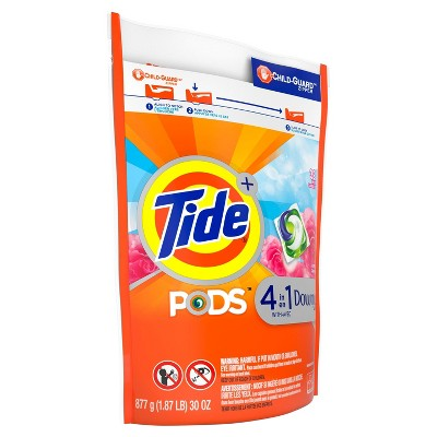 Tide Pods Laundry Detergent Pacs with Downy April Fresh
