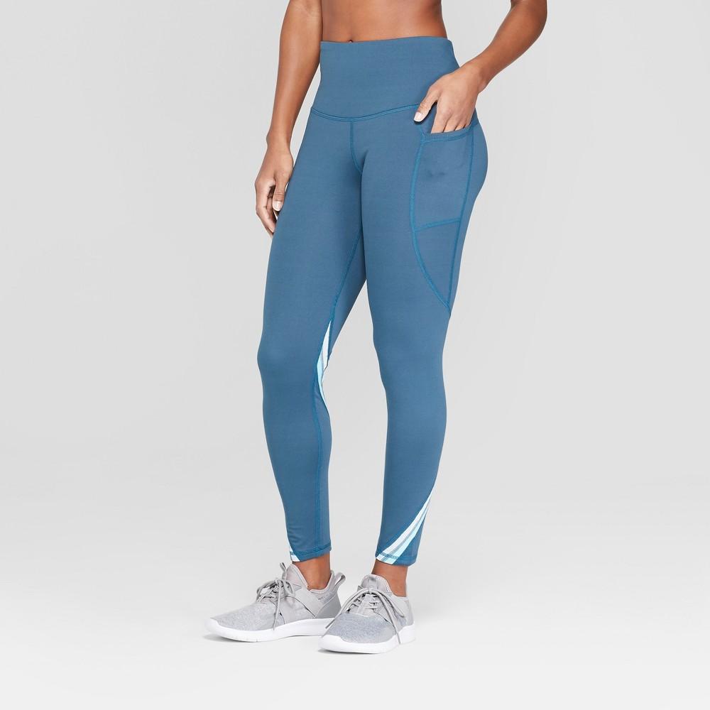 Women's Studio High-Waisted Leggings - C9 Champion Blue M