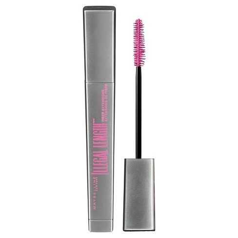 620dcef62fa Maybelline Illegal Length Fiber Extensions Washable Mascara - 930 Blackest  Black : Target