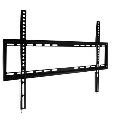 Monoprice EZ Series Fixed TV Wall Mount Bracket For TVs 46in to 70in, Max Weight 77lbs, VESA Patterns Up to 600x400, UL