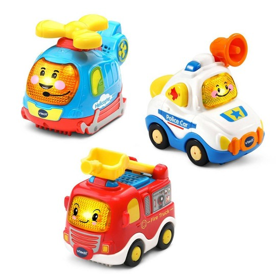 VTech Go! Go! Smart Wheels Vehicle 3 Pack image number null