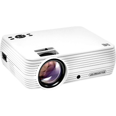 Kodak FLIK X4 800 x 480 LCD Home Theater Projector System with 100 Lumens -Tripod and Case Included -Projects Up to 150 in.